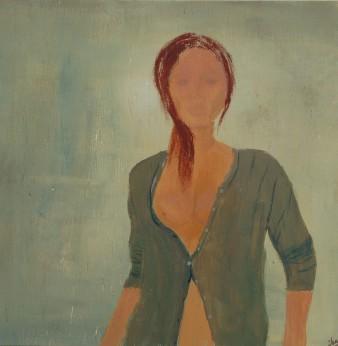 La désinvolte, Acrylique, 28 x 28 cm, 2008 (indisponible)