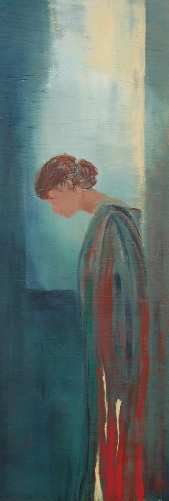 Secrète, Acrylique, 22 x 60 cm, 2008 (indisponible)