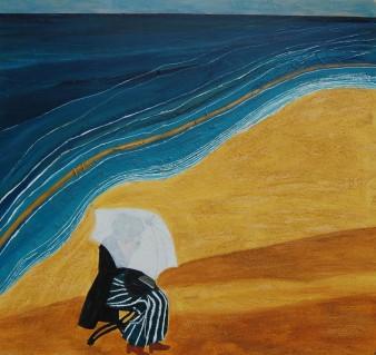Quiétude, Technique mixte, 61 x 61 cm, 2008 (indisponible)