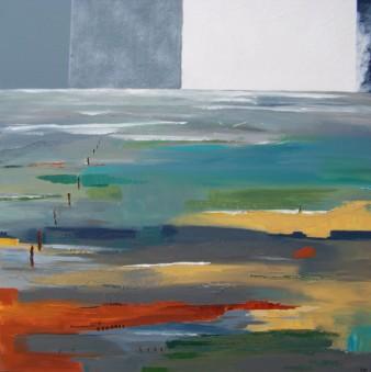 Explorer l'ailleurs, Technique mixte, 80 x 80 cm, 2009 (indisponible)
