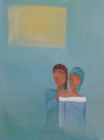 Connivence, Acrylique, 30 x 40 cm, 2010 (disponible)