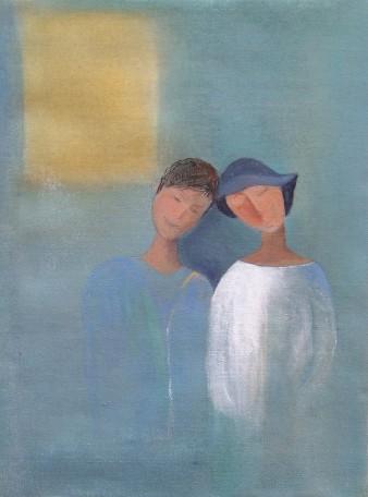 Douceur, Acrylique, 30 x 40 cm, 2010 (indisponible)