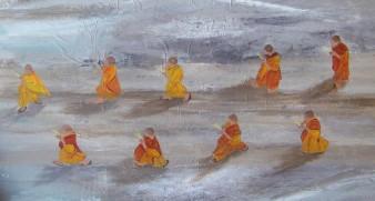 Cambodge, Technique mixte, 60 x 33 cm, 2011 (indisponible)