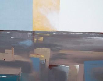 Comme un crépuscule, Acrylique, 100 x 80 cm, 2011 (indisponible)