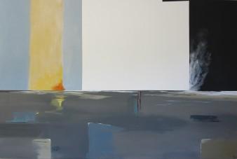 L'aube du monde, Acrylique, 150 x 100 cm, 2012 (indisponible)
