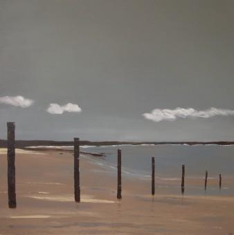 Au grand large, Ttechnique mixte, 100 x 100 cm, 2013 (indisponible)