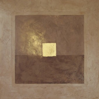 Mordoré, Peinture minérale, 60 x 60 cm, 2013 (indisponible)