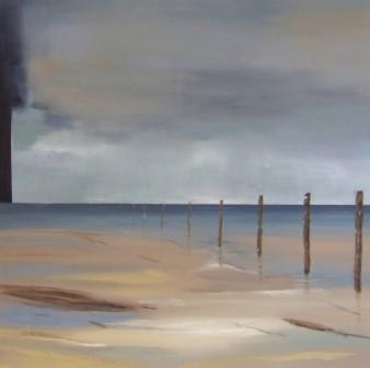 Plénitude, Acrylique, 100×100 cm, 2014 (indisponible)