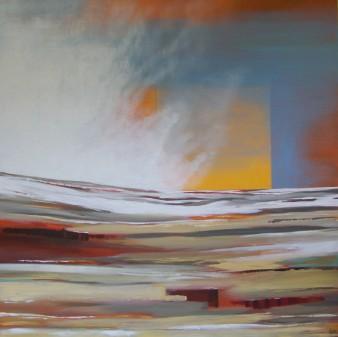 Harmattan,acrylique,100 x100 cm,2015 (indisponible)